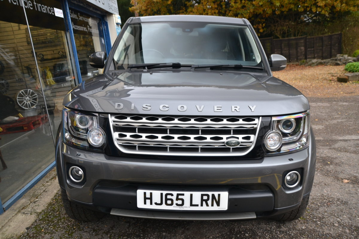 2015 Land Rover Discovery 4 3.0 SDV6 HSE For Sale (picture 2 of 12)