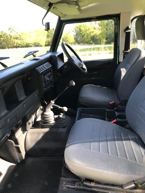 2006 Land Rover Defender 90 TD5 Truck Cab SOLD (picture 7 of 9)