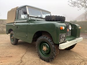 Picture of 1968 Land Rover Series IIa 88in petrol truck cab with tilt For Sale