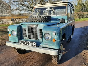Picture of 1970 LANDROVER SERIES 11a MALTESE CROSS * PETROL*