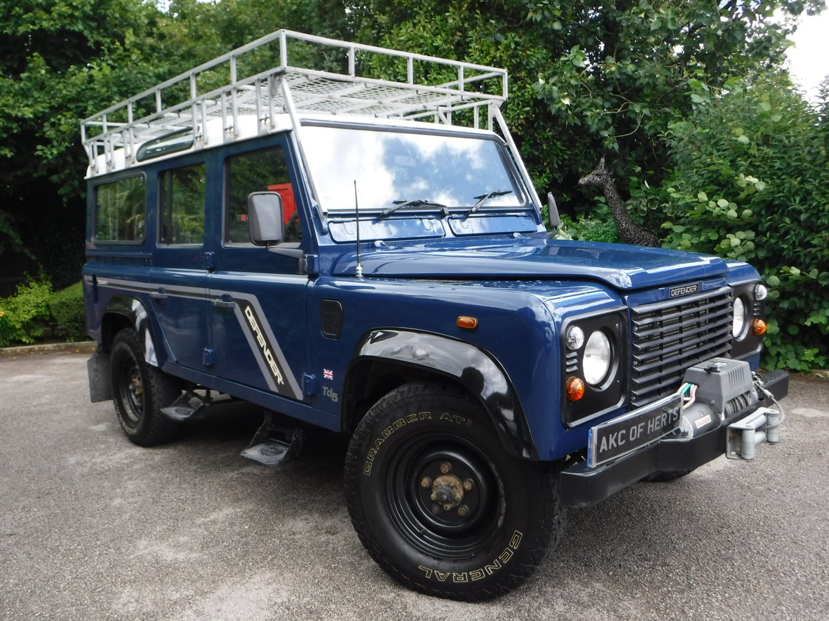 2000 Land Rover 110 Defender 2.5 Td5 SOLD (picture 1 of 12)