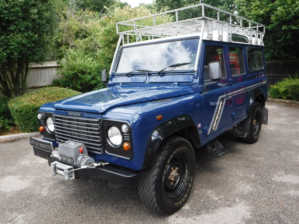 2000 Land Rover 110 Defender 2.5 Td5 SOLD (picture 4 of 12)
