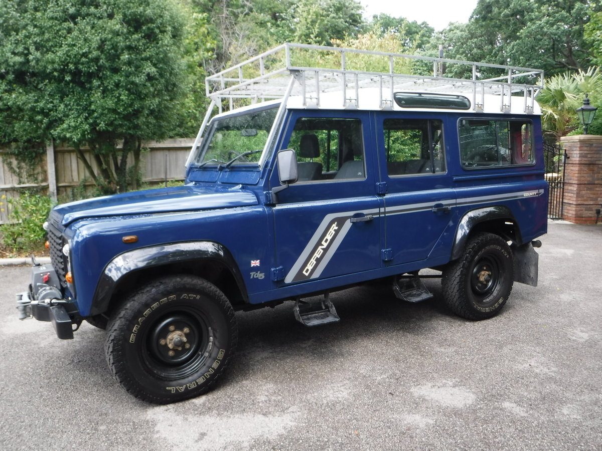2000 Land Rover 110 Defender 2.5 Td5 SOLD (picture 5 of 12)