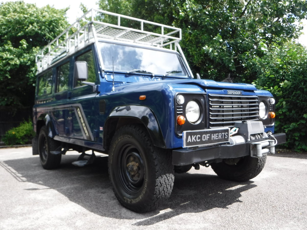 2000 Land Rover 110 Defender 2.5 Td5 SOLD (picture 6 of 12)