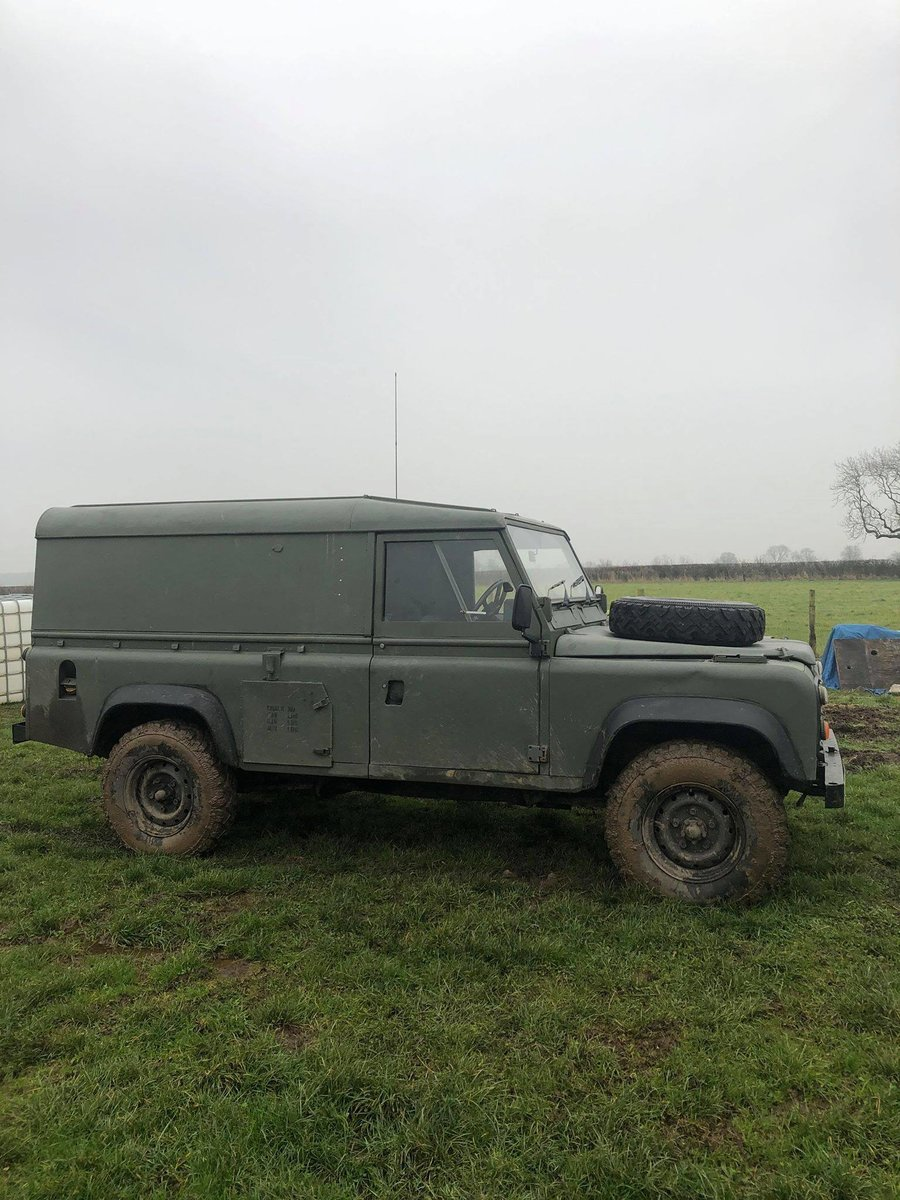 1986 Land Rover 110 FFR Ex-Military 2.5NA For Sale (picture 1 of 9)