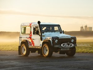 """Picture of 2013 Land Rover Defender 90 Hardtop TD """"Challenge"""" by Bowler For Sale by Auction"""