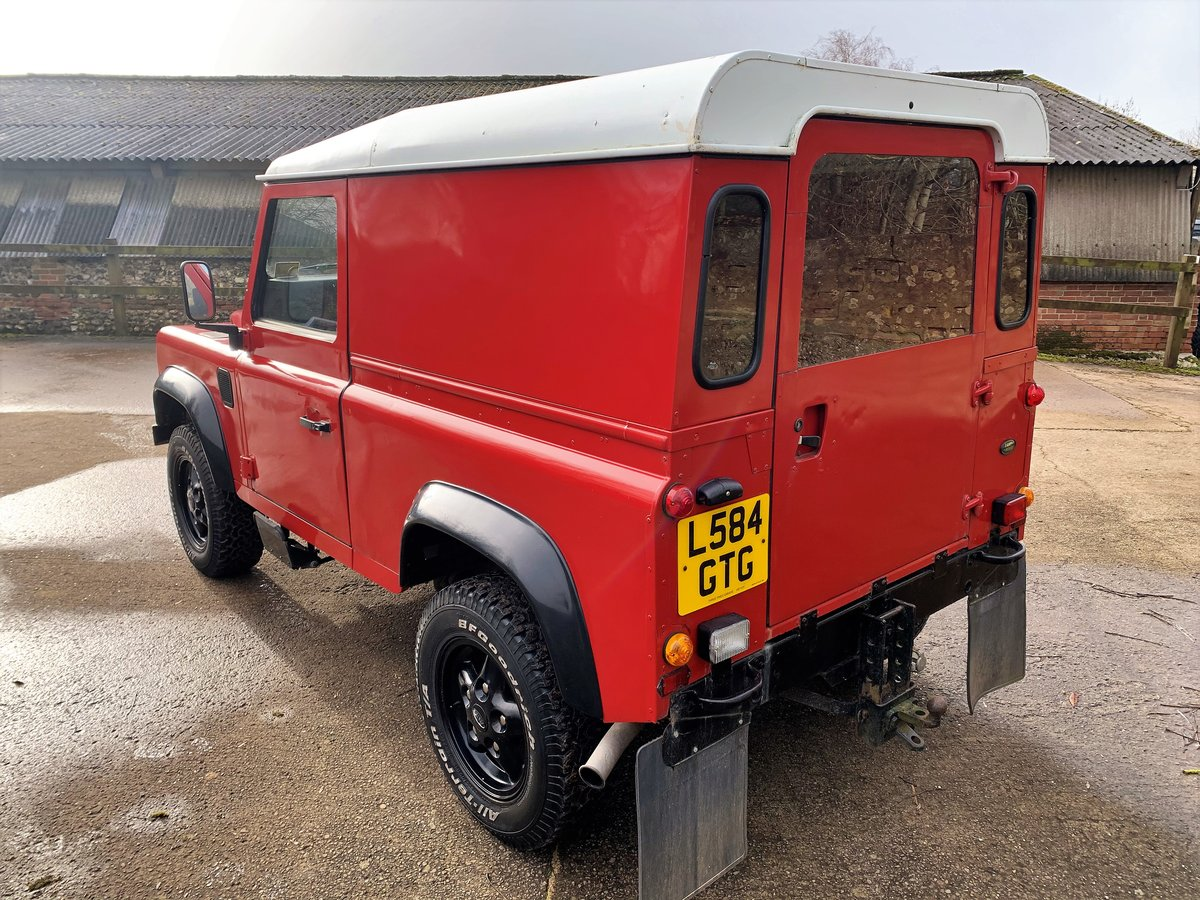 REALLY NICE 1993/L DEFENDER 90 200TDi HARDTOP 3 OWNERS SOLD (picture 4 of 12)