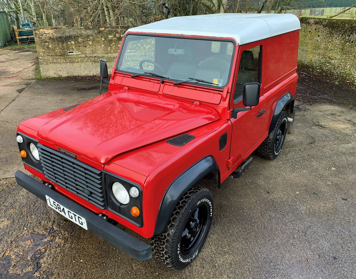 REALLY NICE 1993/L DEFENDER 90 200TDi HARDTOP 3 OWNERS SOLD (picture 10 of 12)