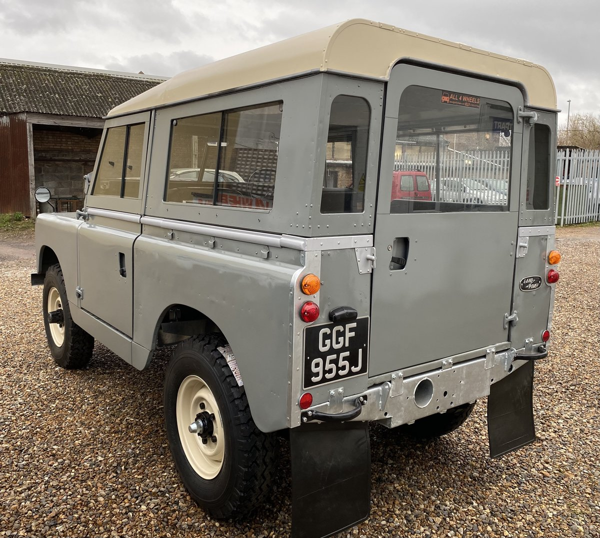 """1971 Land Rover Series 2a SWB 88"""" SOLD (picture 3 of 12)"""