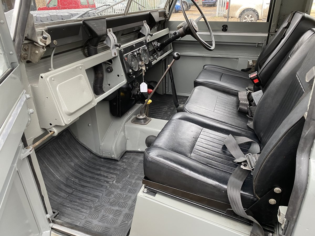 """1971 Land Rover Series 2a SWB 88"""" SOLD (picture 4 of 12)"""
