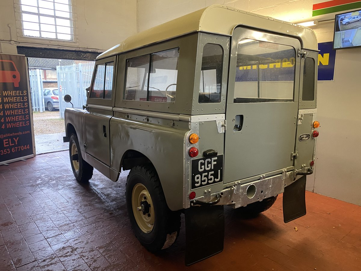 """1971 Land Rover Series 2a SWB 88"""" SOLD (picture 8 of 12)"""