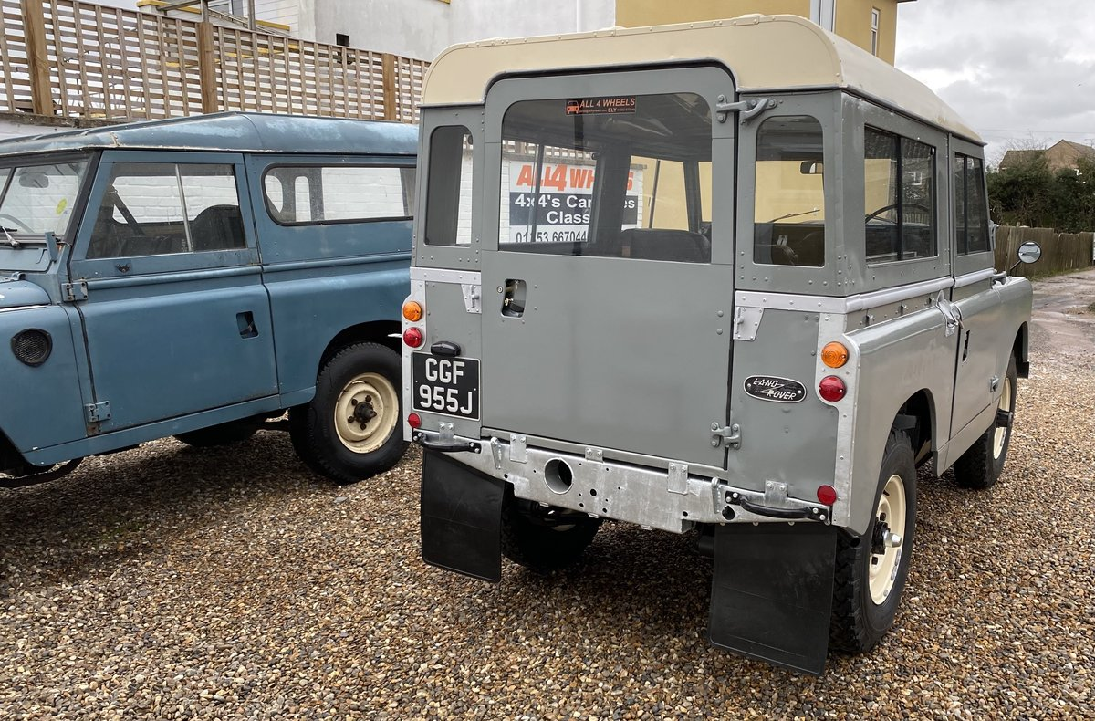 """1971 Land Rover Series 2a SWB 88"""" SOLD (picture 10 of 12)"""