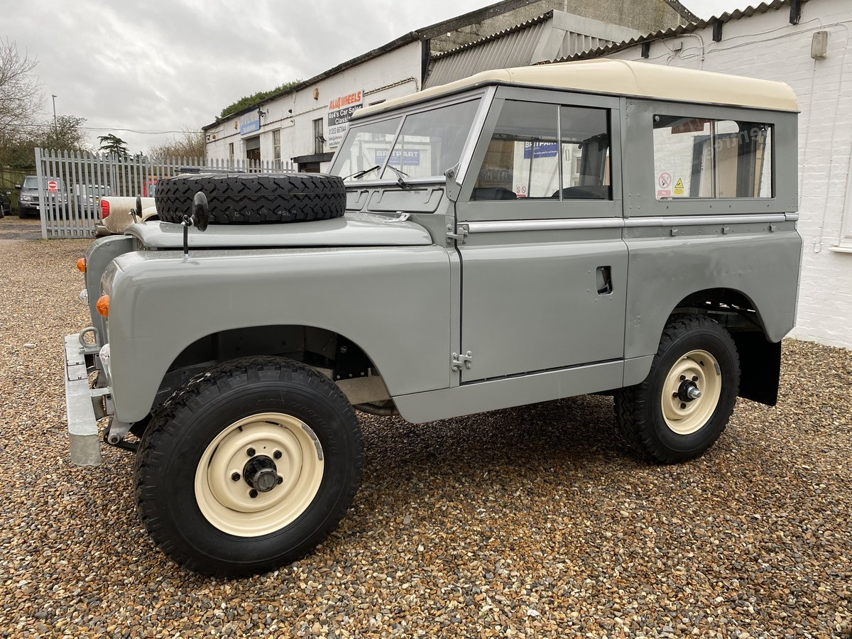"""1971 Land Rover Series 2a SWB 88"""" SOLD (picture 11 of 12)"""