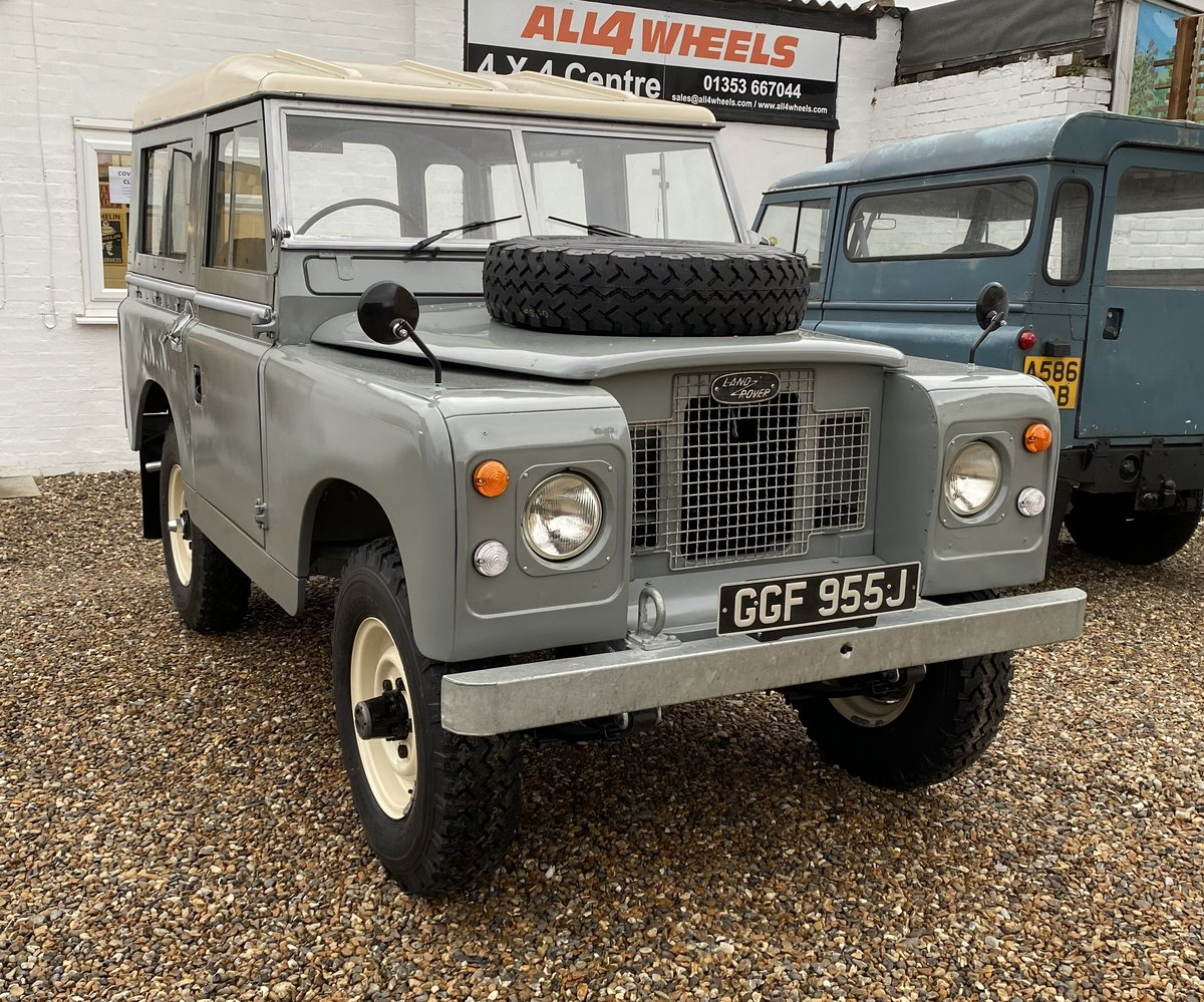 """1971 Land Rover Series 2a SWB 88"""" SOLD (picture 12 of 12)"""