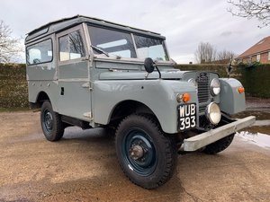 Picture of 1956 Land Rover Series One 86in station wagon 7 seater For Sale