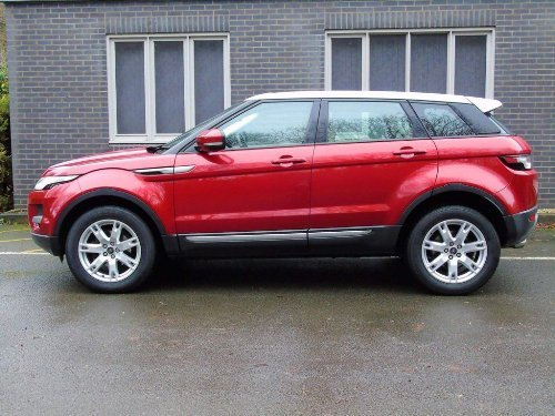 2013 Land Rover Range Rover Evoque 2.2 SD4 Pure Tech AWD 5dr For Sale (picture 4 of 18)