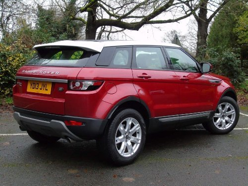 2013 Land Rover Range Rover Evoque 2.2 SD4 Pure Tech AWD 5dr For Sale (picture 5 of 18)
