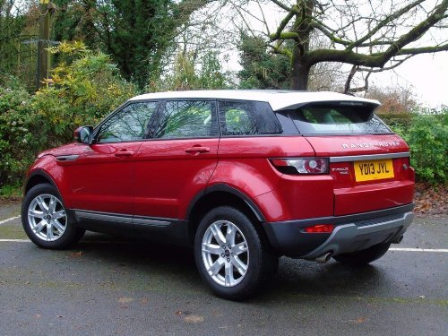 2013 Land Rover Range Rover Evoque 2.2 SD4 Pure Tech AWD 5dr For Sale (picture 6 of 18)