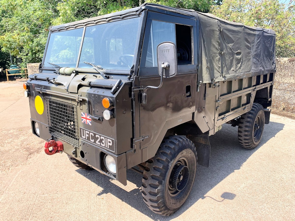 gorgeous 1976 Land Rover 101FC GS left hand drive For Sale (picture 2 of 12)