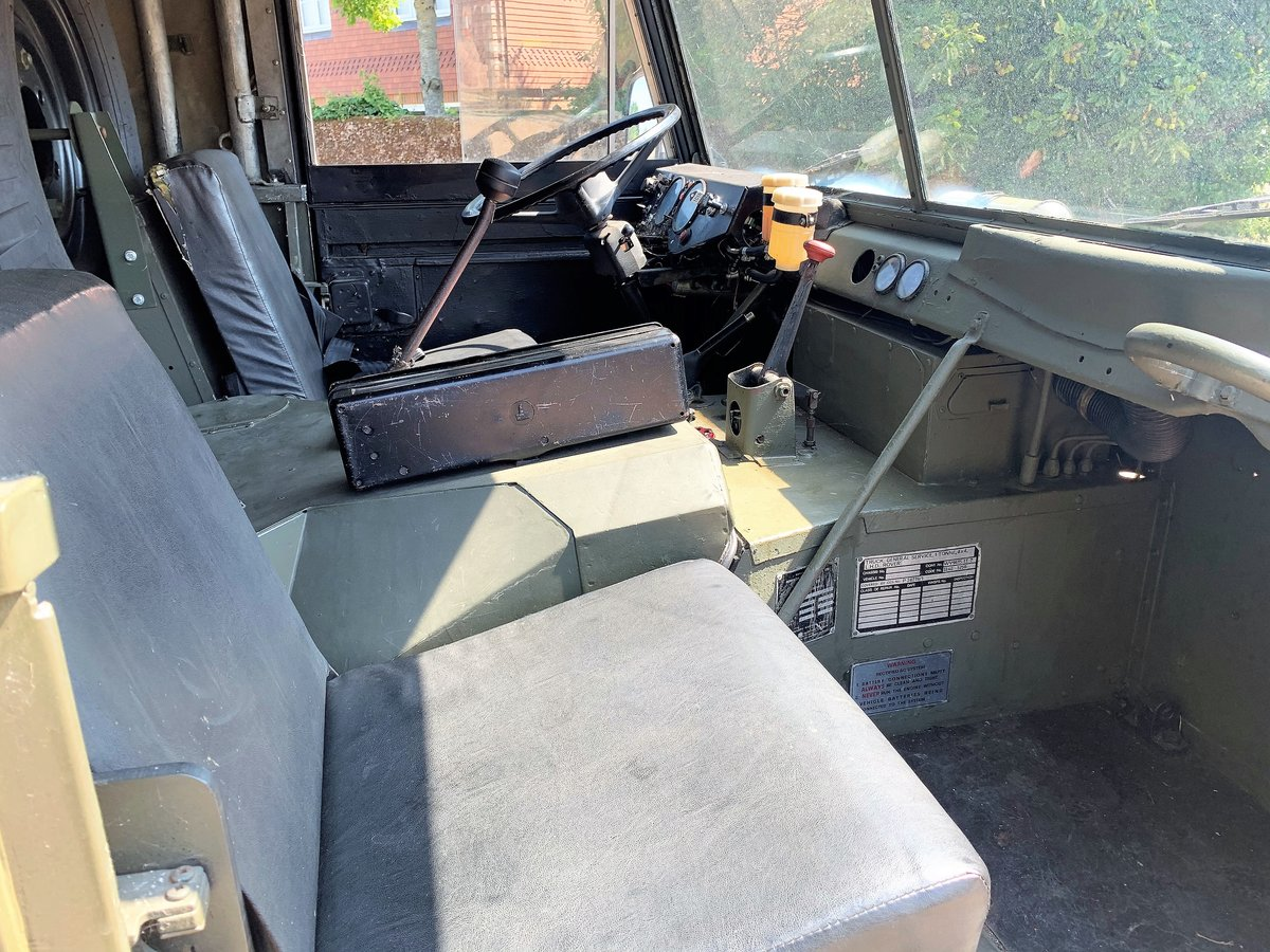 gorgeous 1976 Land Rover 101FC GS left hand drive For Sale (picture 5 of 12)
