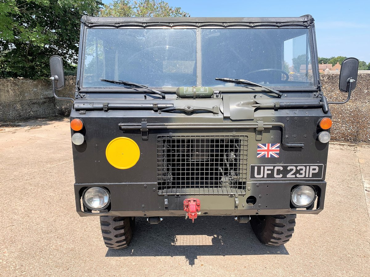 gorgeous 1976 Land Rover 101FC GS left hand drive For Sale (picture 10 of 12)