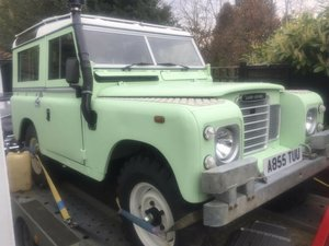 Picture of 1983 SWB with safari roof For Sale