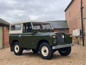 Picture of 1968 Land Rover Series IIA Nut & Bolt Restoration SOLD