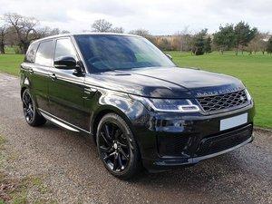2018/18 Range Rover Spt HSE Dynamic Blk Exterior Pack SDV6