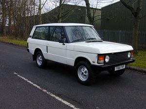 Picture of 1989 RANGE ROVER CLASSIC 2 DOOR LHD EURO SPEC 2.4 Turbo D PROJECT For Sale