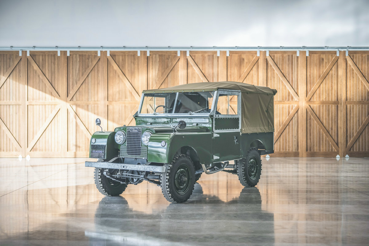 1958 Land Rover Series One 88 For Sale (picture 1 of 6)