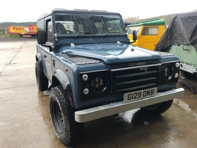 1989 Land Rover Def 90 300tdi Automatic, Galvanised chassis For Sale (picture 1 of 6)