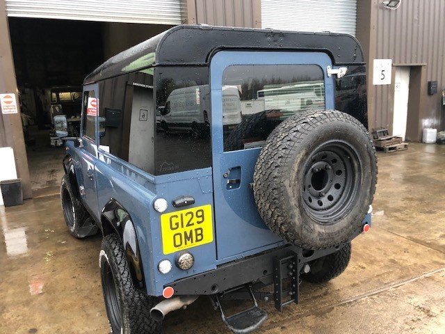 1989 Land Rover Def 90 300tdi Automatic, Galvanised chassis For Sale (picture 3 of 6)