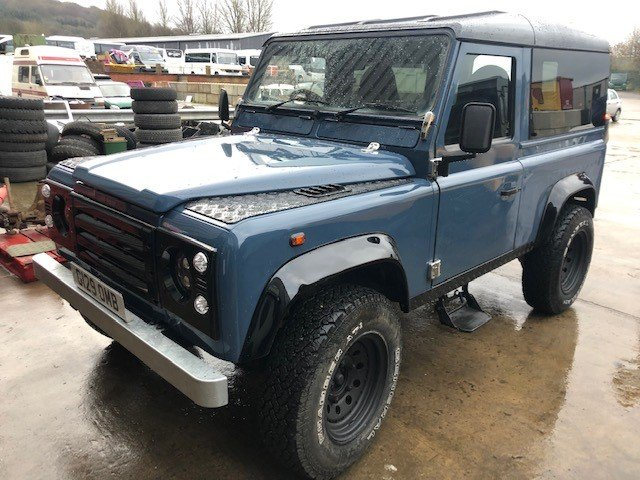 1989 Land Rover Def 90 300tdi Automatic, Galvanised chassis For Sale (picture 5 of 6)