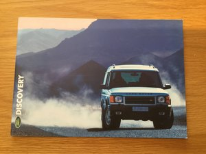 Picture of 2000 Land Rover Discovery brochure For Sale