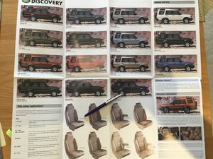Picture of 2000 Land Rover Discovery Range Brochure For Sale