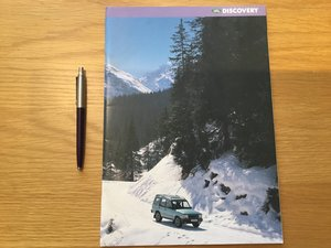 Picture of 1996 Land Rover Discovery brochure For Sale