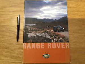 Picture of 1995 Land Rover Range Rover brochure SOLD