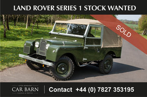 Picture of 1956 Land Rover Series 1 Stock Wanted For Sale