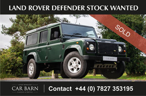 Picture of 2000 Land Rover Defender Stock Wanted For Sale