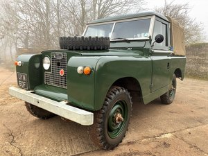 Picture of 1968 Land Rover Series IIa 88in petrol truck cab with tilt SOLD
