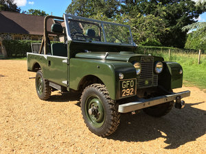 Picture of 1956 Land Rover Series 1 86 For Sale