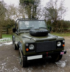Picture of 1986 Ex Mod Land Rover 90 Soft Top SOLD