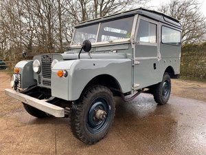 Picture of 1956 Land Rover Series One 86in station wagon 7 seater SOLD