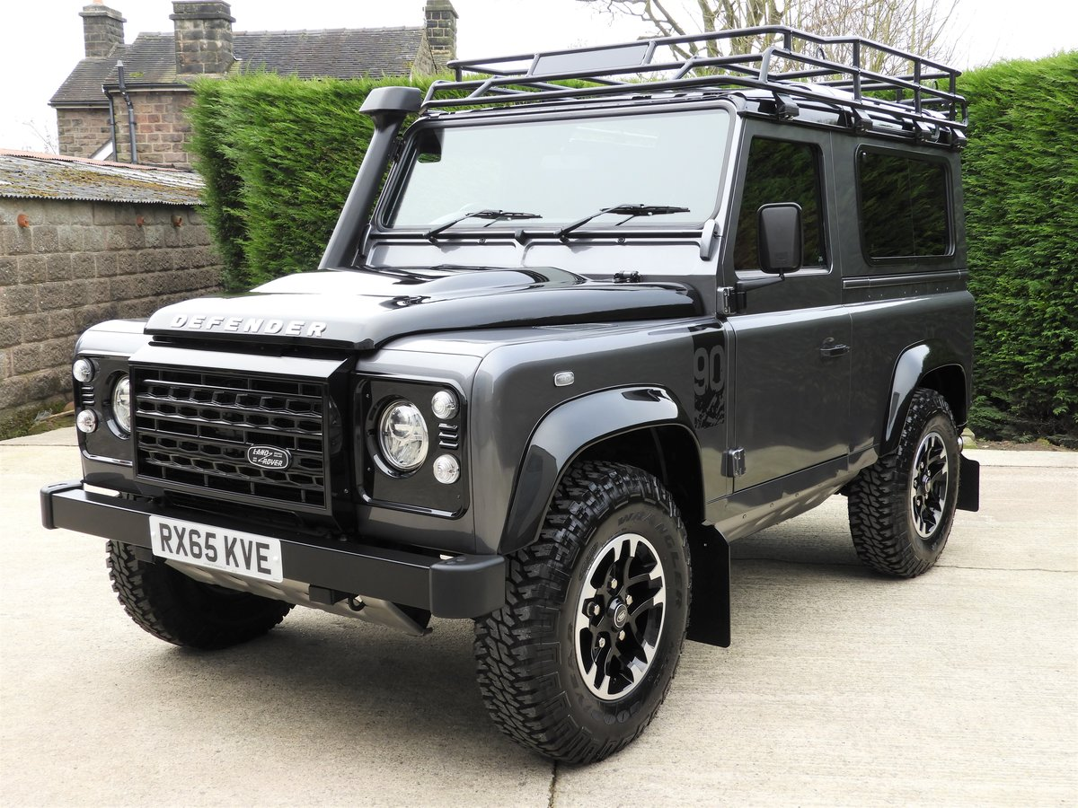 2015 LAND ROVER DEFENDER 90 2.2TDCI ADVENTURE STATION WAGON For Sale (picture 2 of 12)