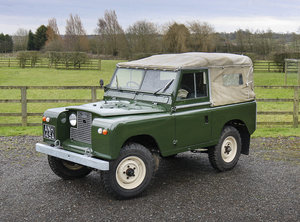 Picture of 1963 Land Rover Series IIA **NOW SOLD** For Sale