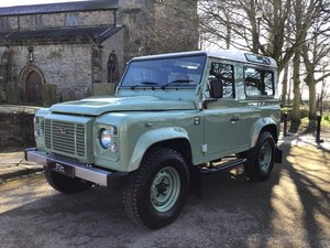 Picture of 2015 LAND ROVER DEFENDER HERITAGE EDITION, 90 STATION WAGON. For Sale