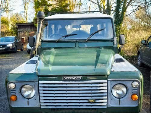 2001 DEFENDER 110 TD5 Twin Cab on GALVANISED CHASSIS For Sale (picture 1 of 5)