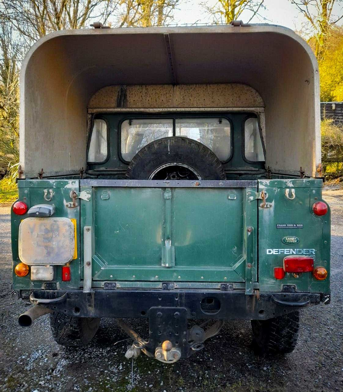 2001 DEFENDER 110 TD5 Twin Cab on GALVANISED CHASSIS For Sale (picture 3 of 5)