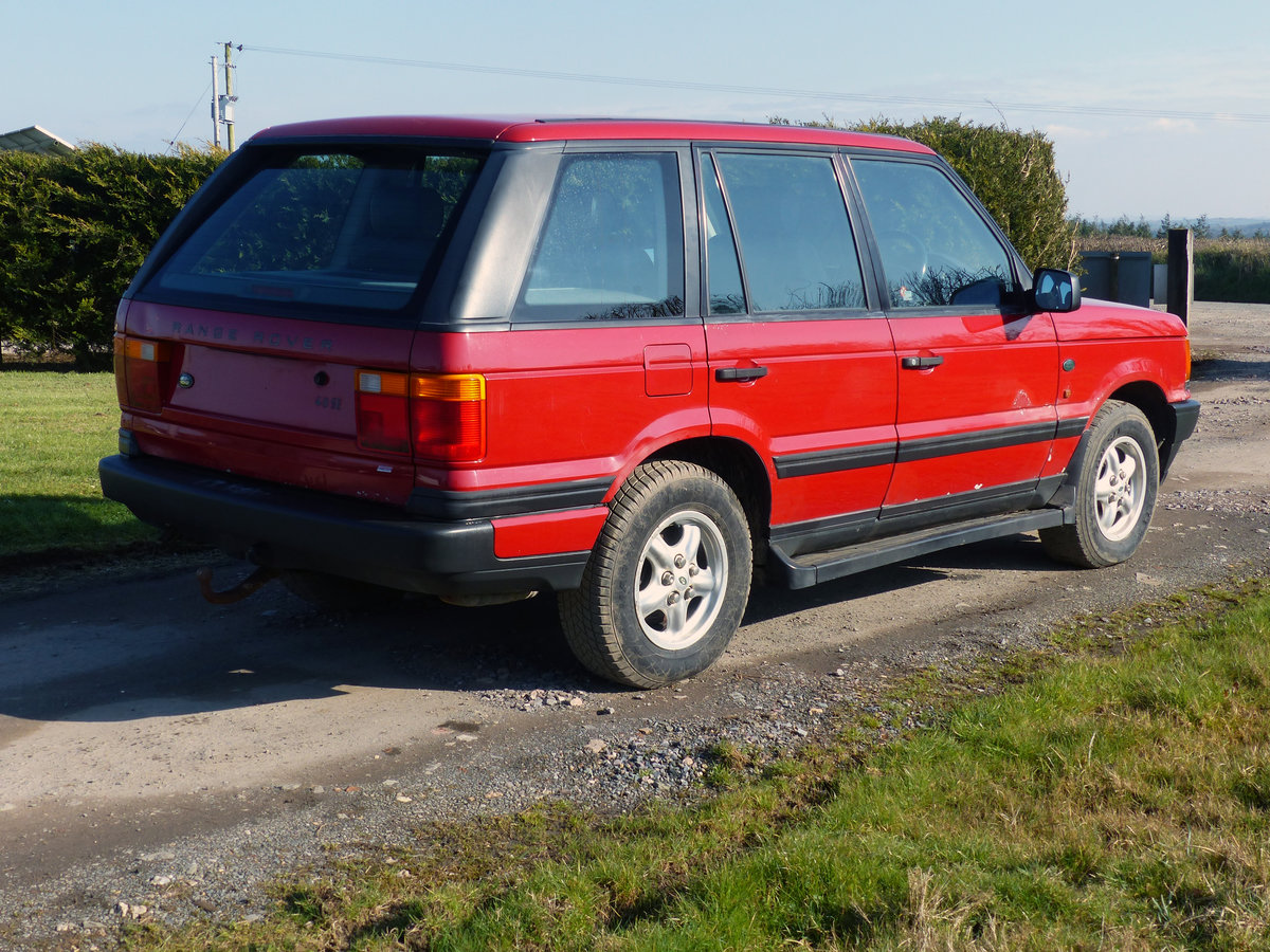 1998 Range Rover P38 4.0 S.E Manual - L/R Company Vehicle For Sale (picture 4 of 9)