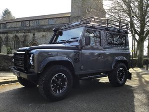 Picture of LAND ROVER DEFENDER 90 ADVENTURE EDITION. 2016/16. 550 MILES For Sale